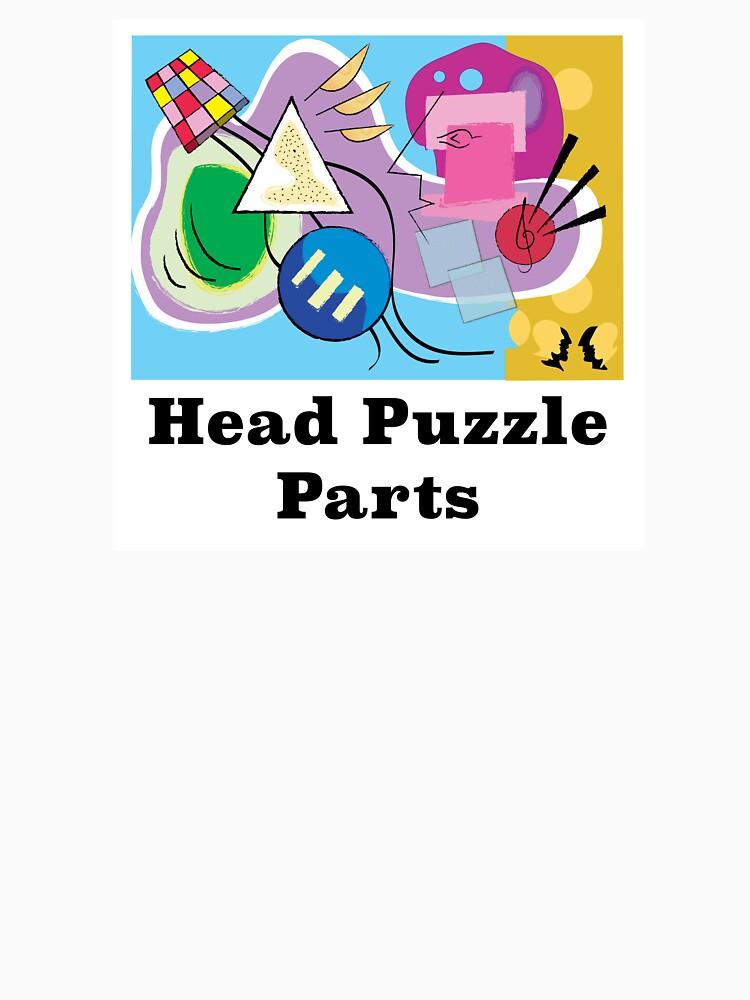 Head Puzzle Parts by SaxDiamond