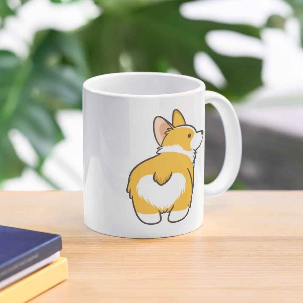 Corgi Heart Butt Mug