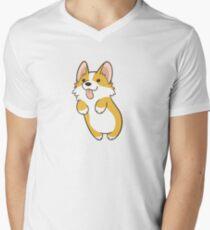 Pembroke Corgi Men's V-Neck T-Shirt