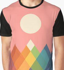 Rainbow Peak Graphic T-Shirt