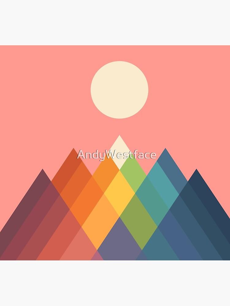 Rainbow Peak by AndyWestface