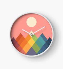 Rainbow Peak Clock