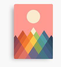 Rainbow Peak Canvas Print