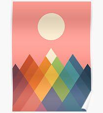 Rainbow Peak Poster