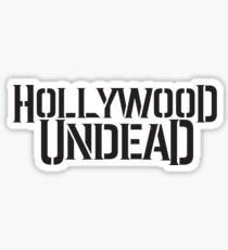 Hollywood Undead text logo Sticker