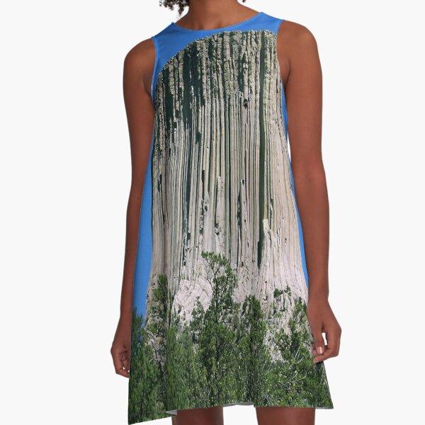 design, decoration, motif, marking, ornament, ornamentation, pattern A-Line Dress