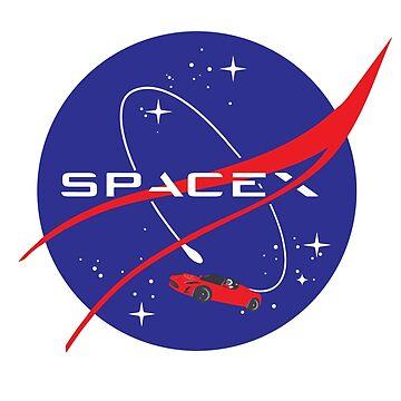 SpaceX / NASA by SallySparrowFTW