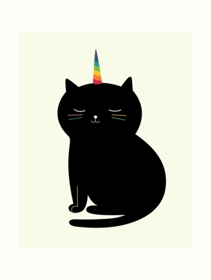 Caticorn by AndyWestface