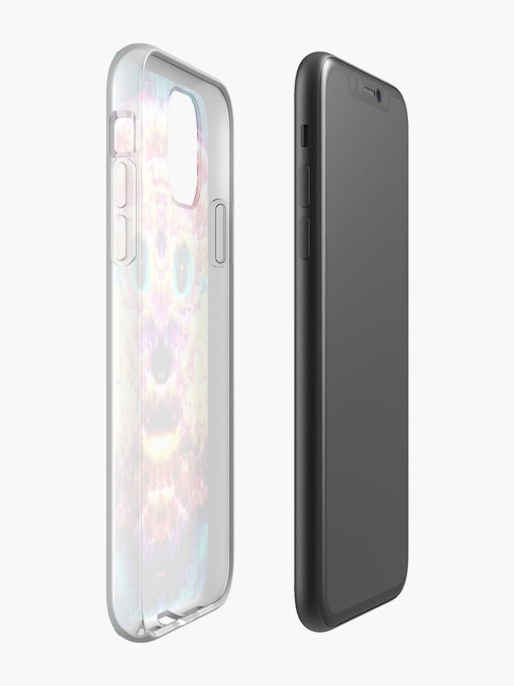 Coque iPhone «Heureux Rainbow Hamster», par JLHDesign