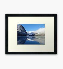 True Blue - Lake Louise Framed Print