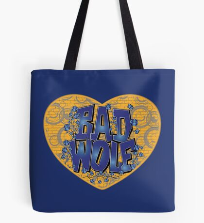 Love The Bad Wolf (Light colours) Tote Bag