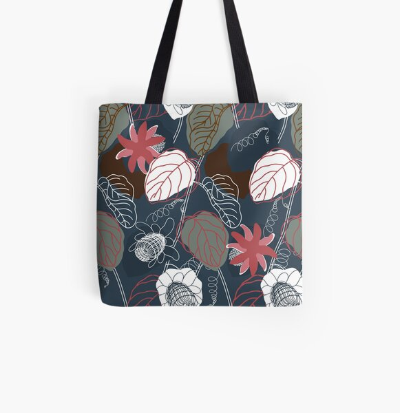 Passiflora All Over Print Tote Bag