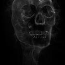 Smoking Skull by MartinWilliams
