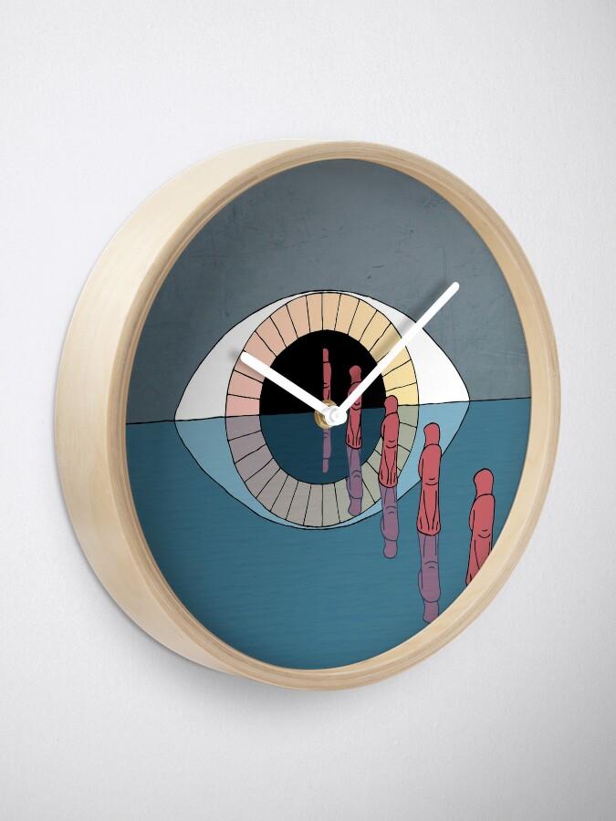 Alternate view of The Eye Clock