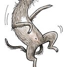 Scottish Deerhound - Irish Wolfhound von JunieMond
