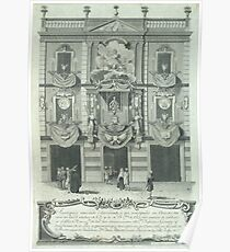 Agustí Sellent Torrents - Façade of the Home of Joan Pau Canals (1783) Poster