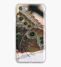 Butterfly Oil Pastel iPhone Case/Skin