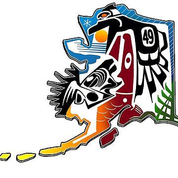 ALASKA DESIGN W/49 FOR THE STATE by EDROMAXIMUS