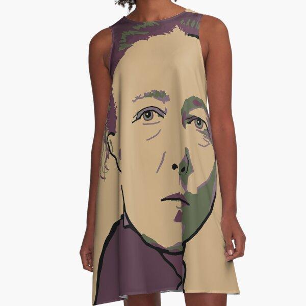 Simone de Beauvoir A-Line Dress
