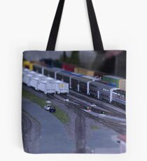 Model Train Show in HO Scale   Tote Bag