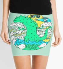 Greg The Green Z Mini Skirt