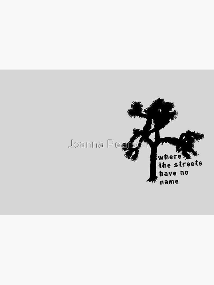 U2 - The Joshua Tree - where the streets have no name by jpearson980