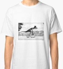 T-Rex on a Penny Farthing Classic T-Shirt