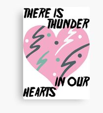 Kate Bush Thunder in our Hearts Canvas Print