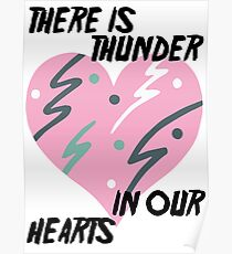 Kate Bush Thunder in our Hearts Poster