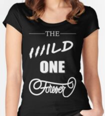 Tom Petty The Wild One Forever Women's Fitted Scoop T-Shirt