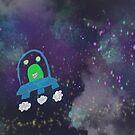 Space drawing  by Claybornnation
