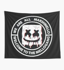 We Are All Marshmello Wall Tapestry