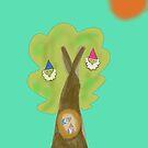 Gnome tree by Claybornnation