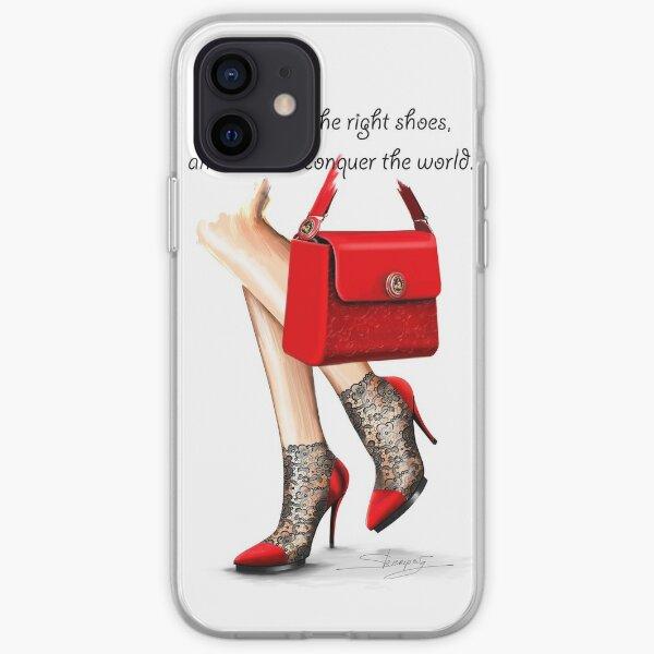 Dans mes chaussures Coque souple iPhone