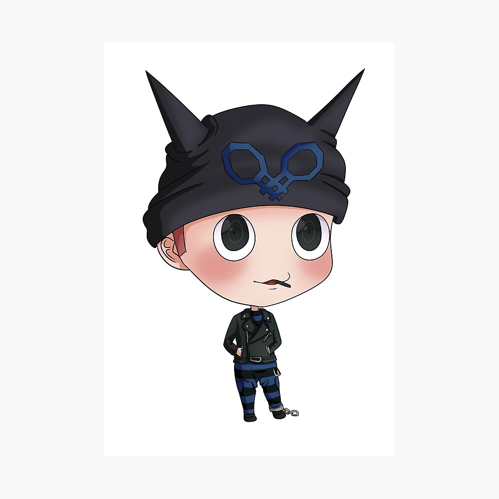 Drv3 Ryoma Hoshi Chibi Photographic Print By Tabithaabadeer Redbubble The danganronpa franchise remains a prime example of how to properly. redbubble