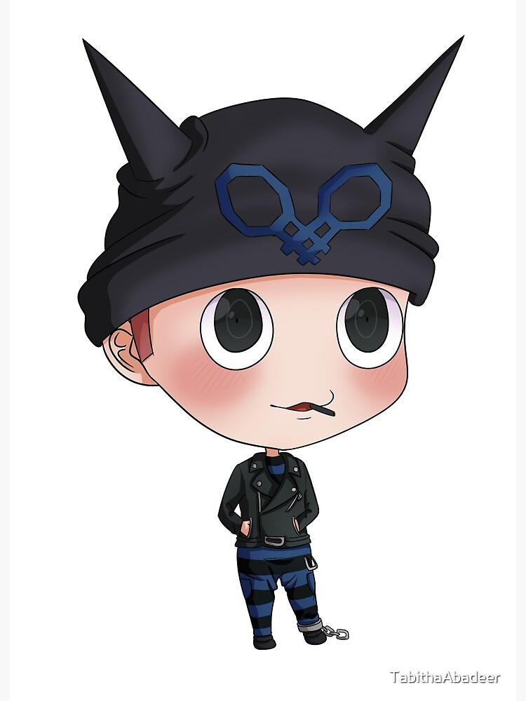 Drv3 Ryoma Hoshi Chibi Art Board Print By Tabithaabadeer Redbubble Been playing a lot of @lordofdorknessgundam's gonta dress up game, it's great, might make more fan art, i just think it's rad. drv3 ryoma hoshi chibi art board print by tabithaabadeer redbubble