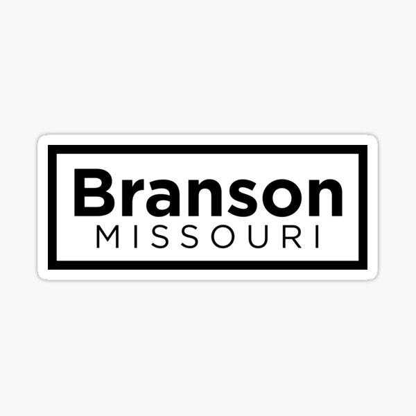 Branson Missouri Sticker