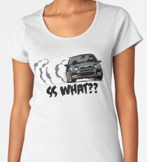 Chevy SS black2 Women's Premium T-Shirt