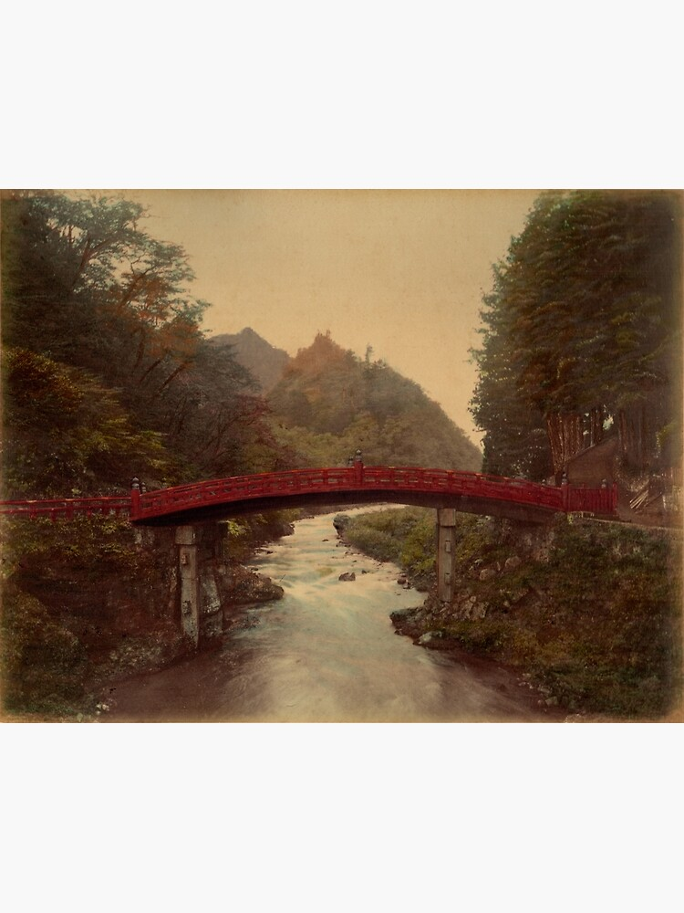 Sacred bridge, Nikko, Japan by Fletchsan