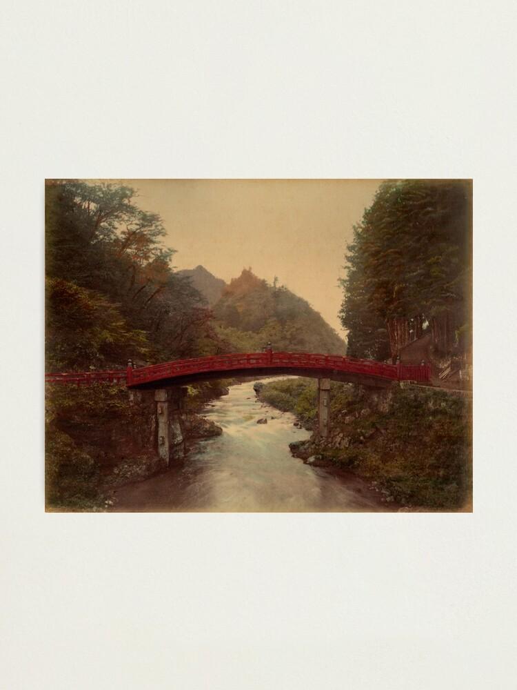 Alternate view of Sacred bridge, Nikko, Japan Photographic Print