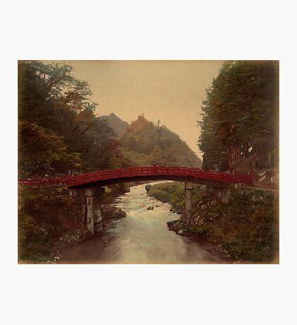 Sacred bridge, Nikko, Japan Photographic Print