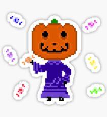 Jack Animal Crossing Pixel art Sticker