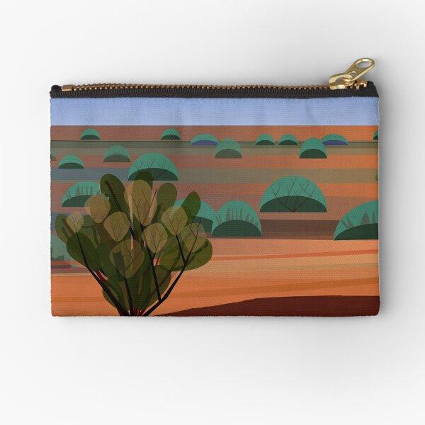 Twilight in the Desert Zipper Pouch