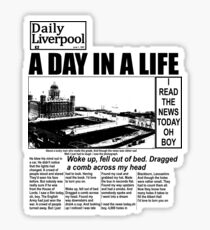 A DAY IN A LIFE - 0300 Sticker
