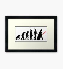 VADER EVOLUTION - 0299 Framed Print