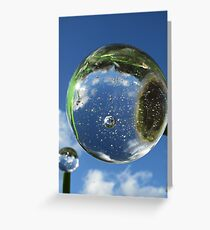 bubble bubble Greeting Card