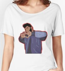 THE WEEKND XO SIGN 3D Women's Relaxed Fit T-Shirt