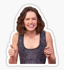 Daisy Ridley Smile Sticker