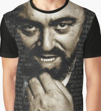 Luciano Pavarotti Graphic T-Shirt