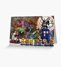 Despicable Who Greeting Card